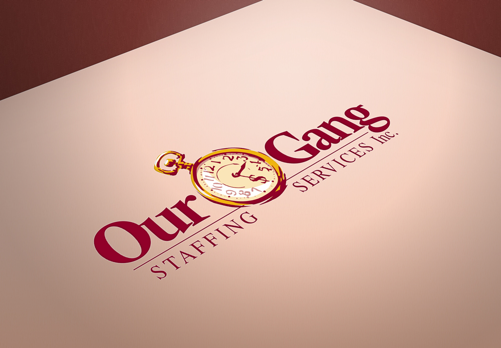 Our Gang Staffing Services Branding