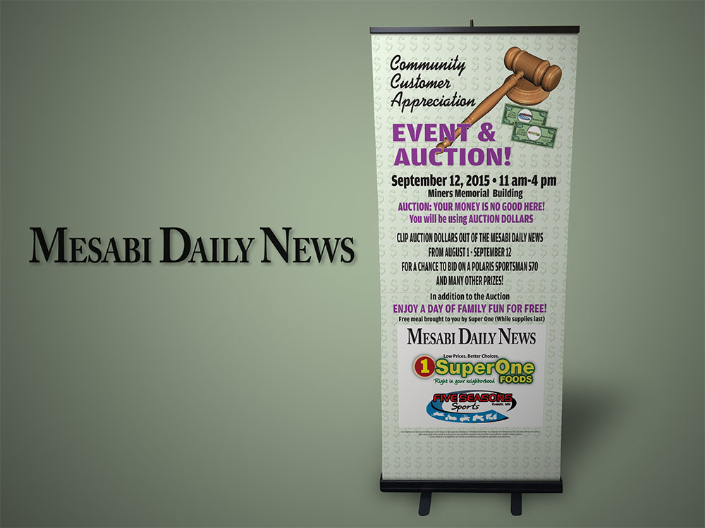 Mesabi Daily News Banner