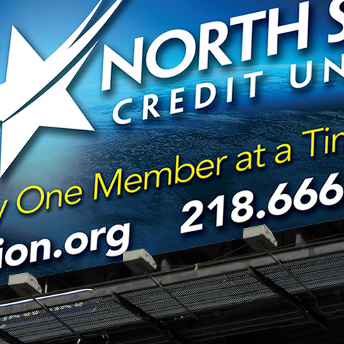 North Star Credit Union Billboard