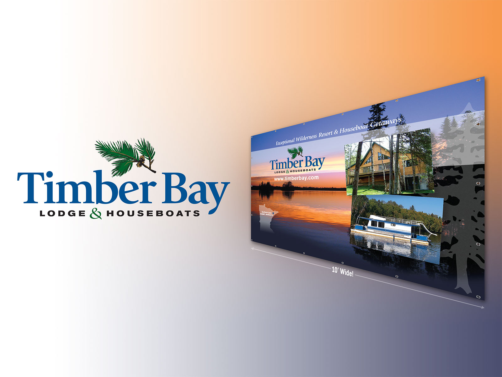 Timber Bay Lodge Banner